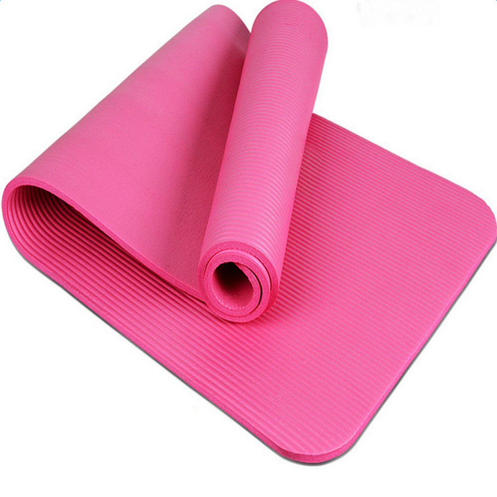 15mm Thick Yoga Mat Exercise Fitness Pilates Camping Gym
