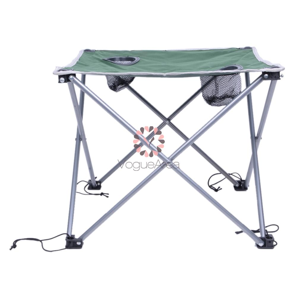 Lightweight oxford cloth portable outdoor folding desk table small size green ebay - Small lightweight folding table ...