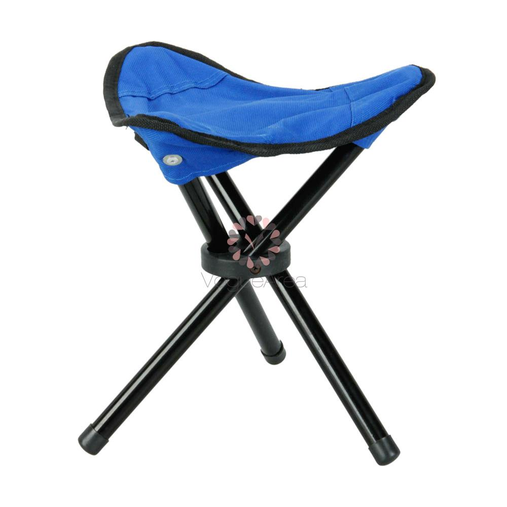 Outdoor Hiking Fishing Lawn Portable Folding Chair With 3