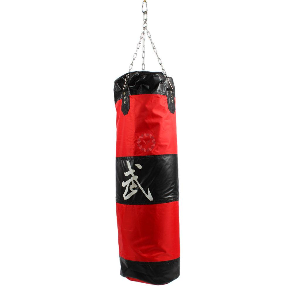 how to make a punching bag with home supplies